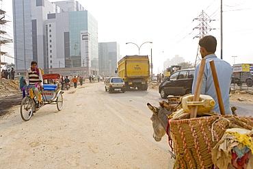 Gurgaon, Hi-Tech center 50km from Delhi, Haryana state, India, Asia