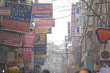 Main Bazaar, Delhi, India, Asia