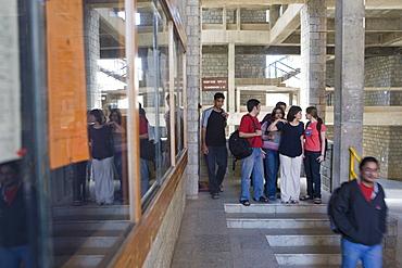 Students, Indian Institute of Management Bangalore, Bangaluru (Bangalore), Karnataka, India, Asia