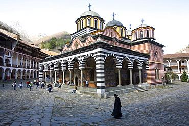 Rila Monastery, UNESCO World Heritage Site, Rila, Bulgaria, Europe