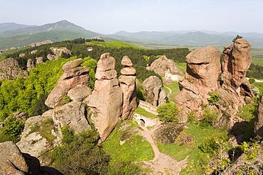 Kaleto fortress, rock formations, Belogradchik, Bulgaria, Europe