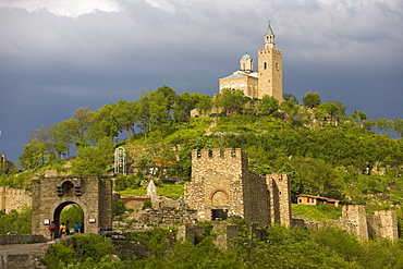 Tsarevets fortress, Veliko Tarnovo, Bulgaria, Europe