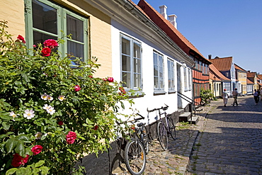 Historic center, Aero Island, Funen, Denmark, Scandinavia, Europe