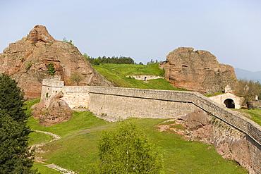 Rock formations, Kaleto fortress, Belogradchik, Bulgaria, Europe