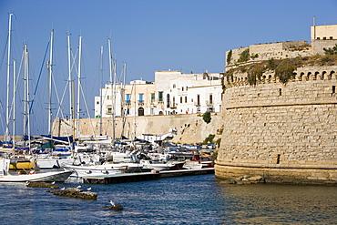The castle, Gallipoli, Lecce province, Puglia, Italy, Europe