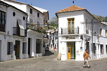 Grazalema, one of the white villages, Cadiz province, Andalucia, Spain, Europe