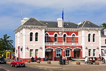 St. Brelade's Parish Hall, St. Aubin, Jersey, Channel Islands, United Kingdom, Europe