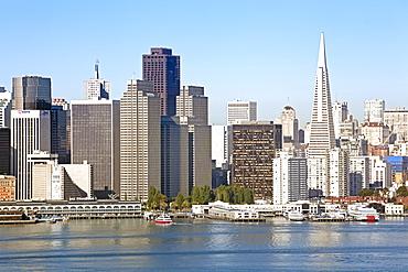 Downtown city skyline, San Francisco, California, United States of America, North America