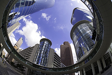 Downtown modern architecture, Houston, Texas, United States of America, North America