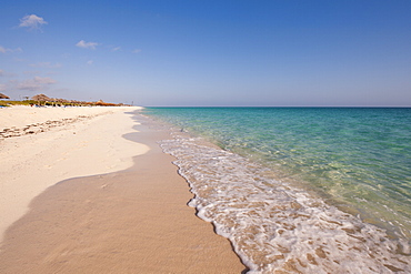 Beach at Cayo Santa Maria, Sol Cayo Santa Maria Resort, Cayo Santa Maria, Cuba, West Indies, Caribbean, Central America