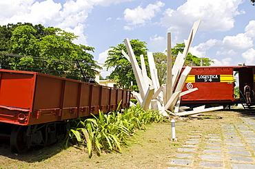 Monumento a la Toma del Tren Blindado (Armored Train Monument),  Santa Clara, Cuba, West Indies, Caribbean, Central America