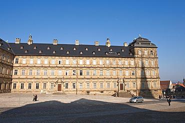 Neue Residenz (New Palace), Bamberg, UNESCO World Heritage Site, Bavaria, Germany, Europe