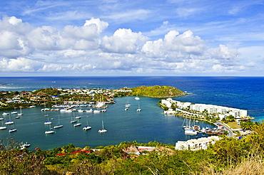 Oyster Pond, St. Martin (St. Maarten), Netherlands Antilles, West Indies, Caribbean, Central America