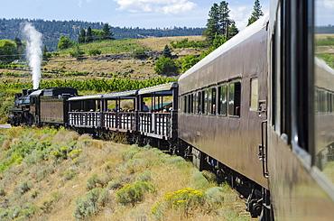 Kettle Valley Steam Railway, Summerland, British Columbia, Canada, North America