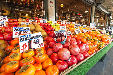 Pikes Place Market, Seattle, Washington State, United States of America, North America