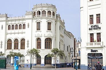 Gran Hotel Bolivar, Lima, Peru, South America