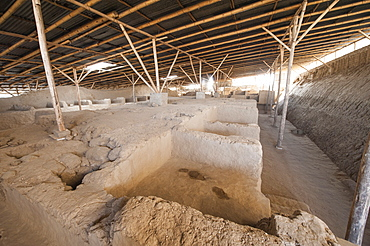 Tucume Archaeological Complex and Royal Tombs Site Museum near Chiclayo, Peru, South America