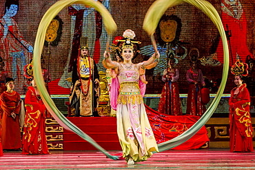 Tang Dynasty Stage Show, XIan, China, Asia