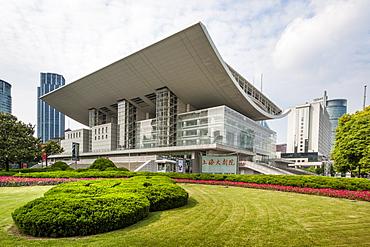 Shanghai Grand Theatre, Shanghai, China, Asia