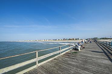 Oceanana Fishing Pier, Atlantic Beach, Outer Banks, North Carolina, United States of America, North America