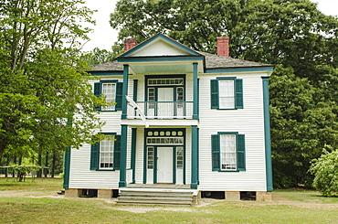 John Harper farmhouse at Bentonville Battlefield State Historic Site, North Carolina, United States of America, North America