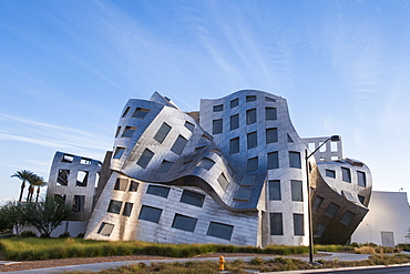 Cleveland Clinic Lou Ruvo Center for Brain Health building designed by Frank Gehry, Las Vegas, Nevada, United States of America, North America