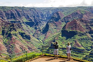 Puu Hinahina Lookout, Waimea Canyon State Park, Kauai, Hawaii, United States of America, Pacific