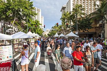Annual Spam Jam Festival, Waikiki, Honolulu, Oahu, Hawaii, United States of America, Pacific