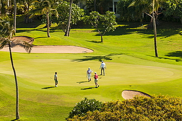 Ko Olina Golf Course, Makaklo, Oahu, Hawaii, United States of America, Pacific
