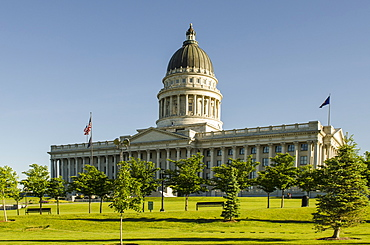State Capitol Building, Salt Lake City, Utah, United States of America, North America