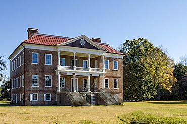 Drayton Hall Georgian plantation house, Charleston, South Carolina, United States of America, North America