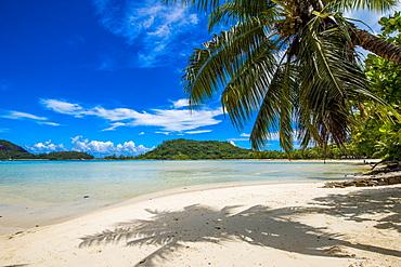 Anse L'Islette Beach, Mahe, Republic of Seychelles, Indian Ocean, Africa