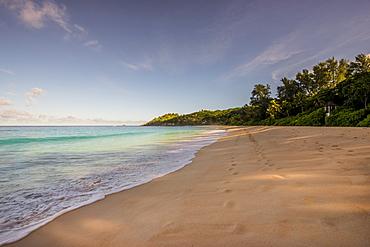 Police Bay Beach, Mahe, Republic of Seychelles, Indian Ocean, Africa