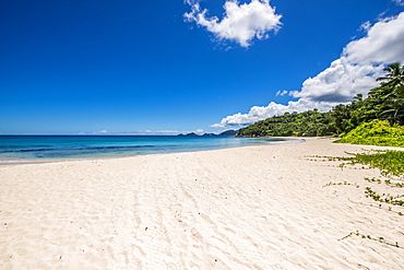 Anse A La Mouche Beach, Mahe, Republic of Seychelles, Indian Ocean, Africa