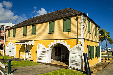The Historic Scale House, Christiansted, St. Croix, US Virgin Islands, Caribbean