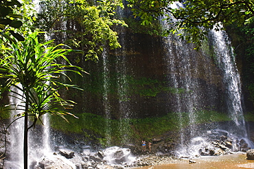 Ngardmau waterfalls Koror, Republic of Palau, Pacific