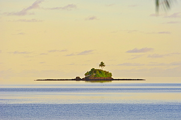 Offshore island at the Palau Pacific Resort, Republic of Palau, Pacific