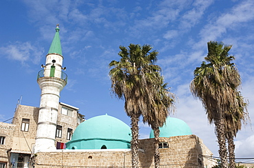 Sinan Pasha Mosque, Akko (Acre), Israel, Middle East