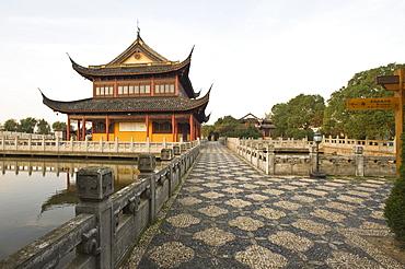 Quanfu Temple, Zhouzhuang, Jiangsu, China