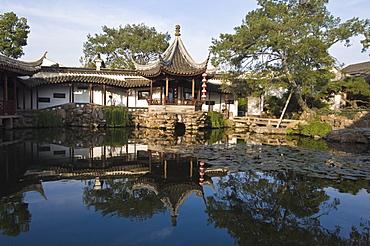 The Master-of-Nets Garden (Wangshi Yuan), UNESCO World Heritage Site, Suzhou, Jiangsu, China