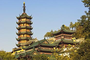 Jinshan (Golden Hill) Temple, Zhenjiang, Jiangsu, China