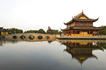 Quanfu Temple, Zhouzhuang, Jiangsu, China, Asia