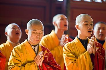Jinshan (Golden Hill) Temple, Zhenjiang, Jiangsu, China, Asia
