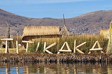 Uros Island, Lake Titicaca, Peru, South America