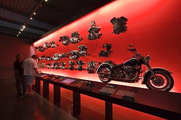 Harley Davidson Museum, Milwaukee, Wisconsin, United States of America, North America