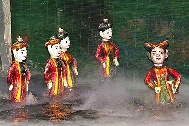 Vietnam, Hanoi, Thang Long Water Puppet Theatre.