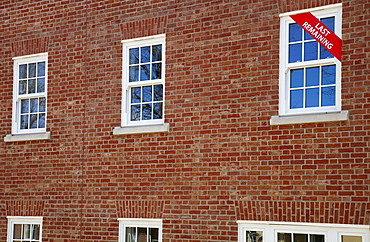 England, West Sussex, Chichester, Newly built apartments near the site of the old Shipphams Paste Factory.