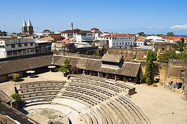 Tanzania, Zanzibar, Stone Town, The amphitheatre seen from the House of Wonders.