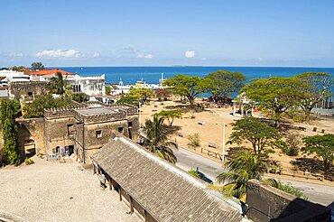 Tanzania, Zanzibar, Stone Town, he amphitheatre taken from the House of Wonders.