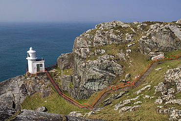 Ireland, County Cork, Sheeps Head Peninsula, Sheeps Head Lighthouse.